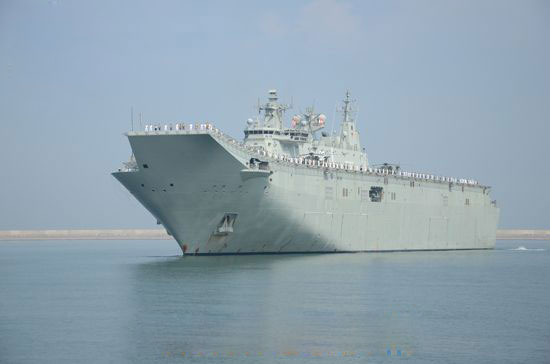 Four Australian Naval ships arrive in Sri Lanka for IPE 19