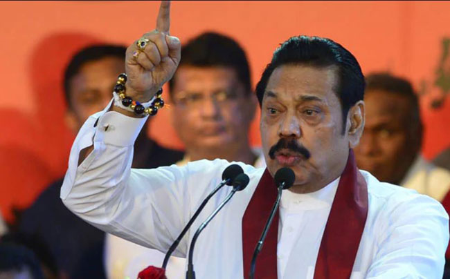 Fraudsters and corrupted will be punished under my term – Mahinda