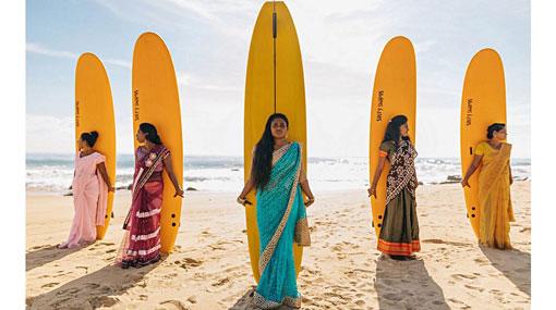 All-female surf club shifting paradigm in Sri Lankan surf culture