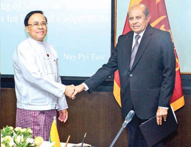 Myanmar, Sri Lanka vow to deepen bilateral cooperation in various sectors