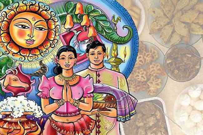 Auspicious Times of Sinhala and Tamil New Year