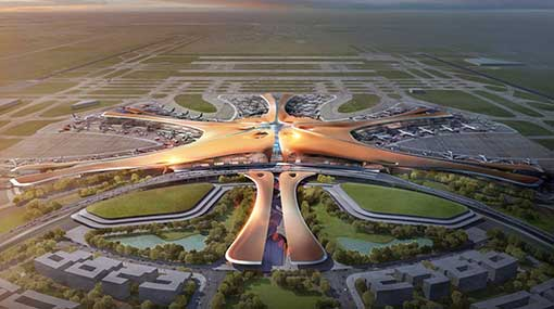 World's largest airport 'Starfish' to open this year in China