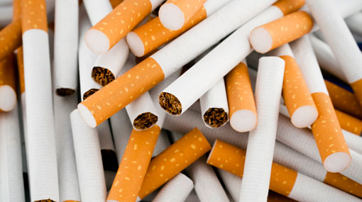 Two Lankans held with cigarettes worth over Rs 4 million