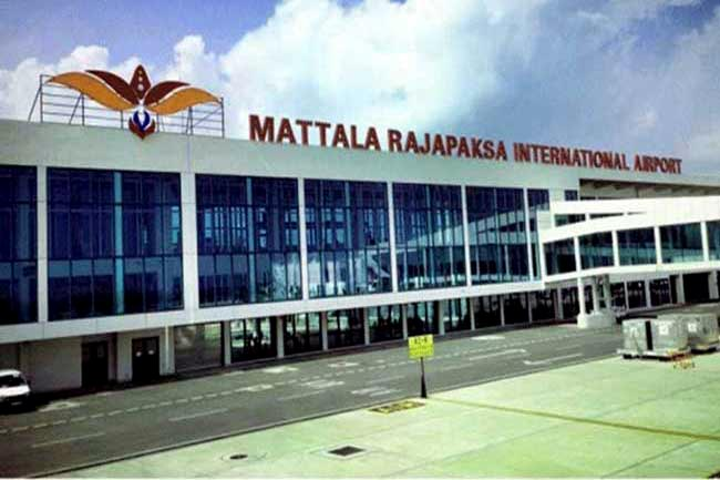 Flights diverted to Mattala due to bad weather