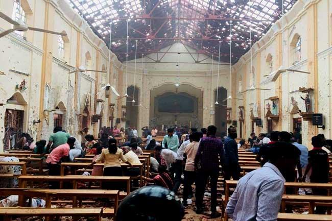 Explosion at Kochchikade Church