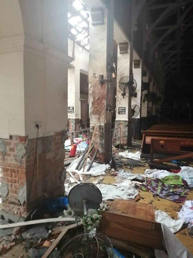 Another explosion at Katuwapitiya Church