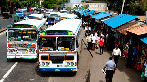 Transport of parcels on buses restricted