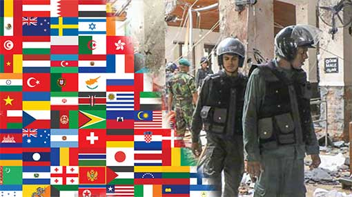 International community condemns tragic explosions in Sri Lanka