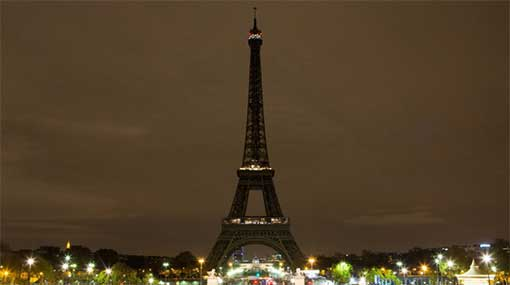 Eiffel Tower pays tribute to Easter Day attack victims in SL