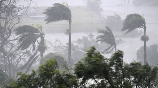 Weather advisory issued for heavy rainfall, strong winds and rough seas