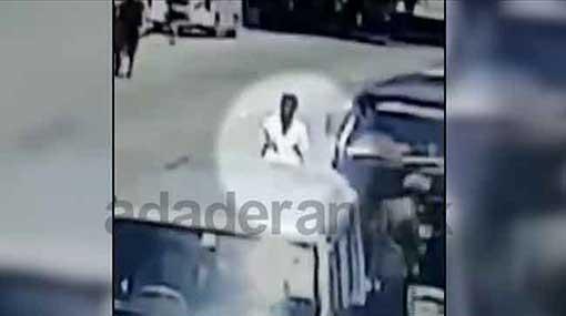 'Nervous' bomber at lodge in Dehiwala captured on CCTV