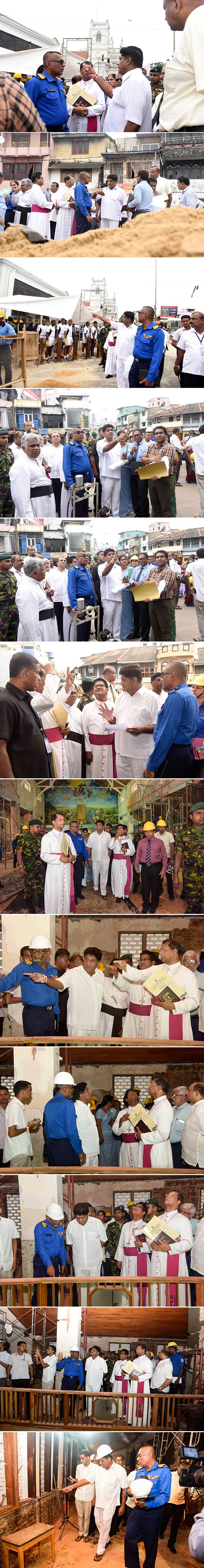 Sajith visits Kochchikade church...