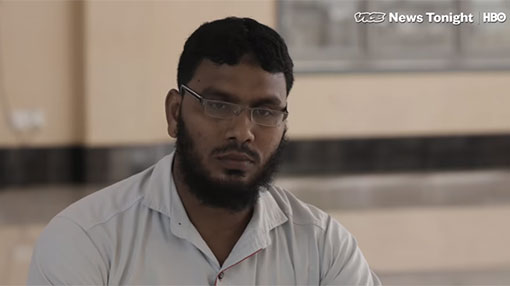 NTJ's leader says group is not a terrorist movement and  Zahran was dismissed in 2017