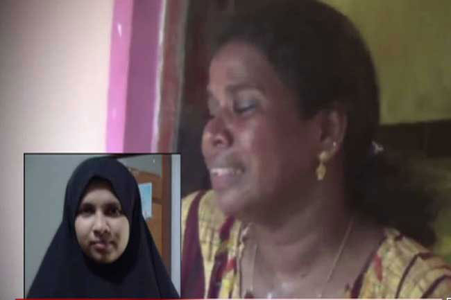 Female suicide bomber used to be a devout Hindu, reveals mother