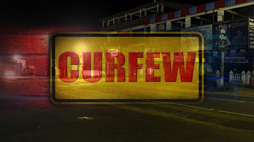 Curfew re-imposed in North Western Province and Gampaha