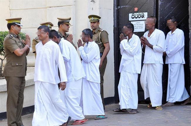 Over 700 inmates granted presidential pardon on Vesak