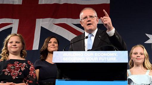 2019 Australia election: PM Morrison celebrates 'miracle' win