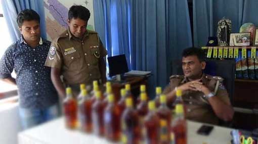 Two arrested for selling liquor during Vesak season