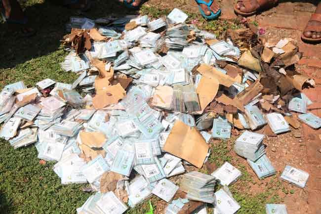 5000 unused SIM cards found from Ma Oya