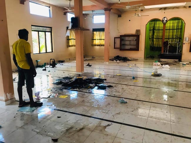 Mosques damaged in clashes to be compensated