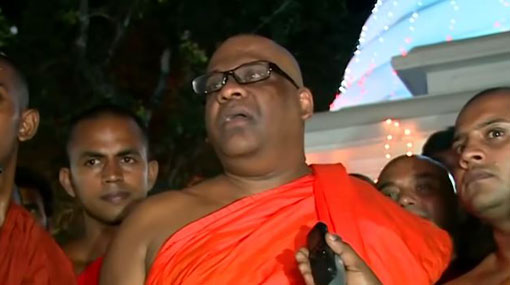 Everyone must work prudently & responsibly - Gnanasara Thero
