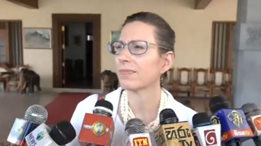US Ambassador on cross-servicing agreement with Sri Lanka