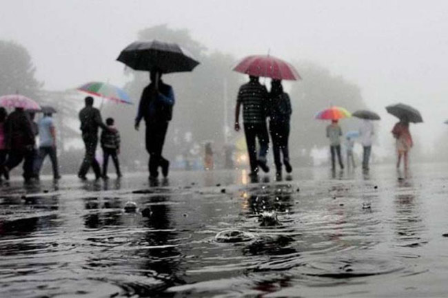 Showers expected to continue in several provinces