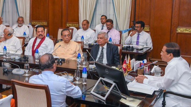 National Security Review Committee meets under President's patronage
