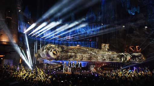 Chewbacca, Ford and Hamill launch Disney's 'Star Wars' land