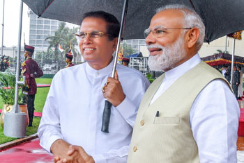 Modi's visit to Sri Lanka…