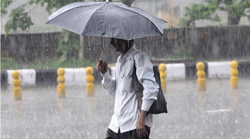 Showers expected in five provinces
