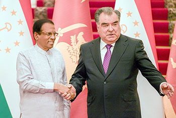 Sri Lanka-Tajikistan hold bilateral talks...