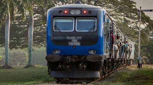 Railway services on Chilaw-Colombo line back on track