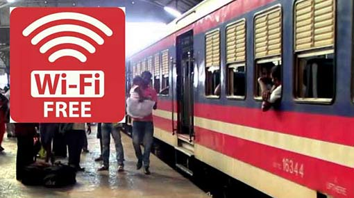 Fifty-three railway stations to be facilitated with Wi-Fi zones