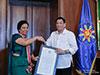 Duterte confers 'Order of Sikatuna' on outgoing Sri Lankan envoy