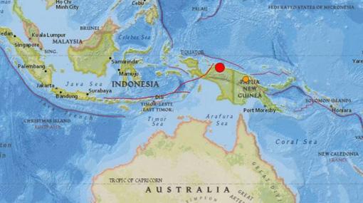 6.3-magnitude earthquake rocks Papua