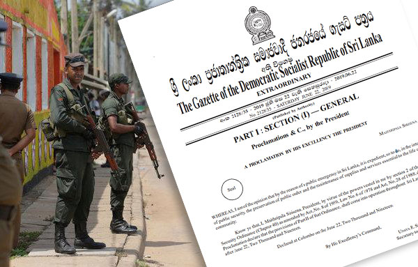 State of Emergency in Sri Lanka extended by a month