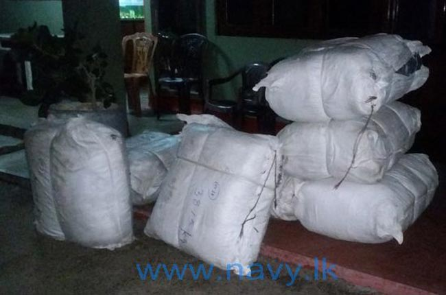 Navy recovers over 335 kg of Kendu leaves