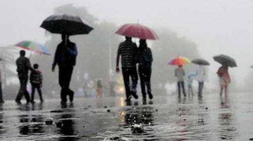 Thundershowers expected in several districts after 2pm
