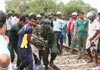 Sixth officer dies in train-Army truck collision