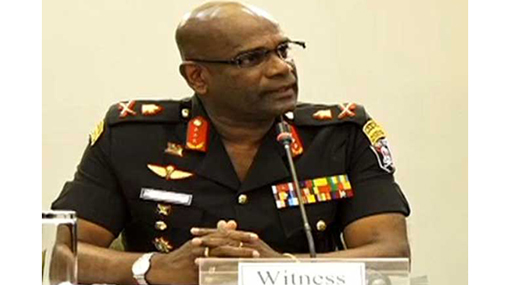 Army Chief commences giving evidence before PSC