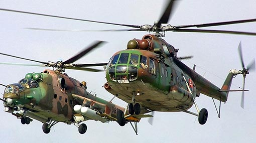 Sri Lanka considers buying more Russian-made helicopters - CDS