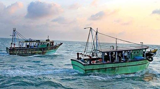 Sri Lankan Navy arrests four Indian fishermen