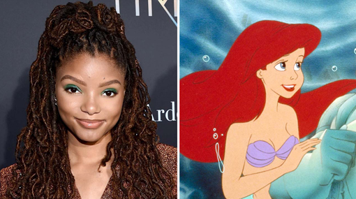 Halle Bailey: Disney announces singer to play Little Mermaid