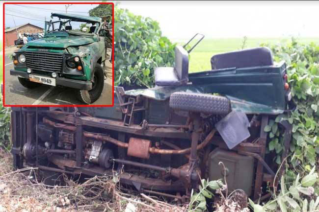 10 soldiers injured after army vehicle topples