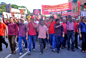 JVP mass rally…