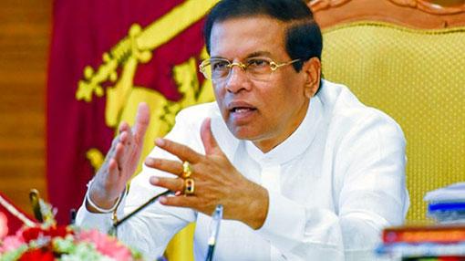 President orders to speed up 'Wew Gam Pubuduwa' agri development programme
