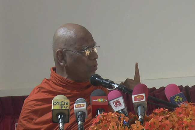 Distributing tabs to students could expedite country's destruction, warns Sobitha Thero