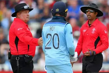 Dharmasena and Erasmus named umpires for World Cup final