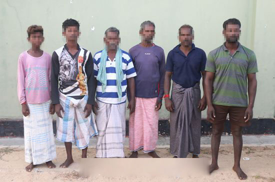 12-year-old boy among 6 Indian fishermen arrested for trespassing